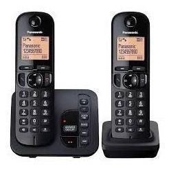 Telefono inalambrico panasonic kx-tgc222 duo con contestador