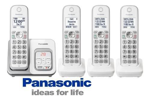 Telefono inalambrico panasonic kx-tgd534 contestador 3handys