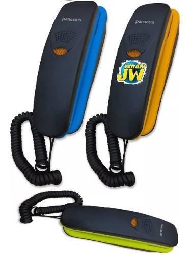 Telefono panacom 7220 de pared y escritorio flash mute