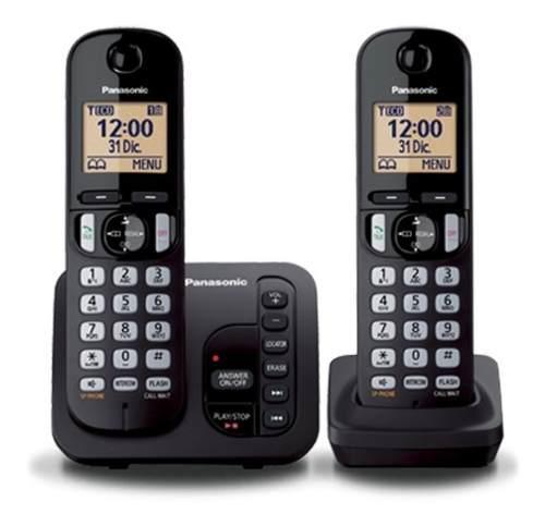 Teléfono inalámbrico panasonic kx tgc222 duo contestador