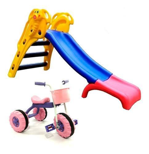 Triciclos infantiles niños + toboganes elefantito rodacross