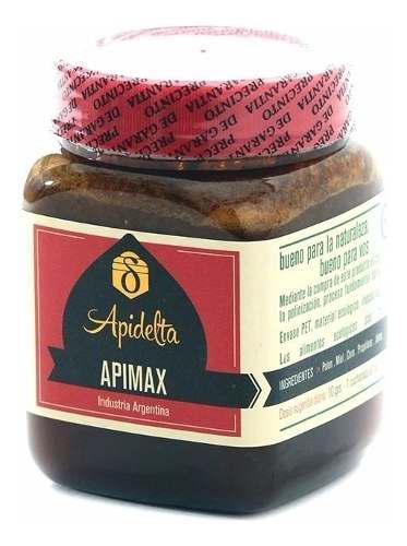 Apimax energizante + jalea real + polen + propoleos 320 gs