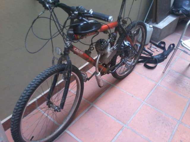 Bici-moto caloi (motor 60cc) en salta