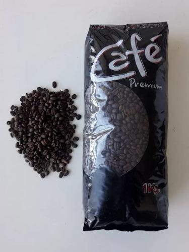 Cafe tostado en granos 1 kg santos bourbon brasil