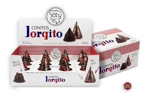 Conitos de dulce de leche jorgito x 12u - sweet market
