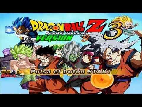 Dragon ball z budokai tenkaichi 3 v8 ultra remake mods19 ps2