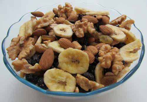 Frutos secos mix con banana x 10kl precio x mayor