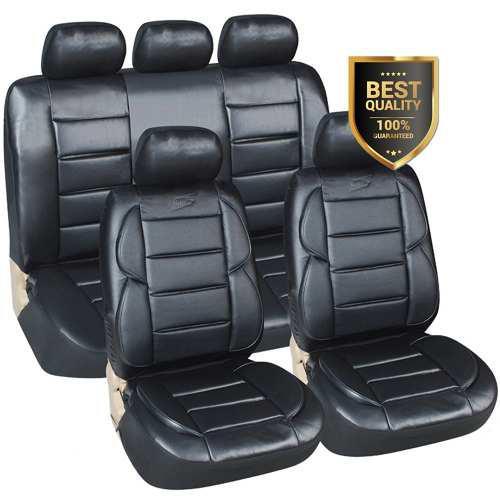 Funda cubre asiento auto cuerina ultra acolchada p/ toyota