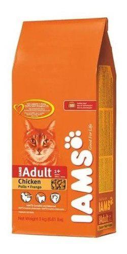 Iams cat food chiken formula 15 kg gatos adultos el molino