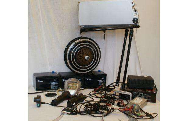 Kit full motor electrico 350w 36v en la plata