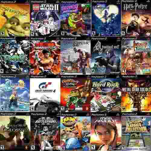 Lote x 5 juegos ps2 playstation 2 tenemos todos los titulos