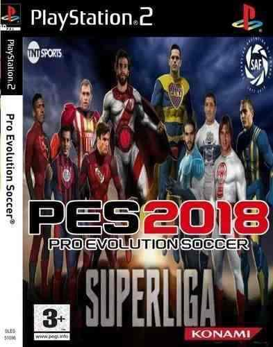 Pes 18 super liga argentina ps2 pes 2018 afa playstation 2