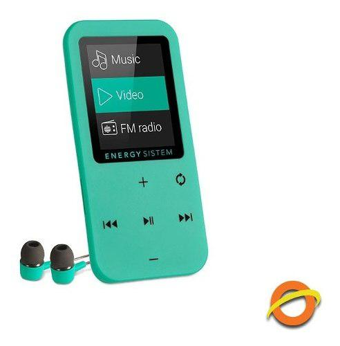 Reproductor mp3 mp4 tactil touch radio fm grabador voz 8gb