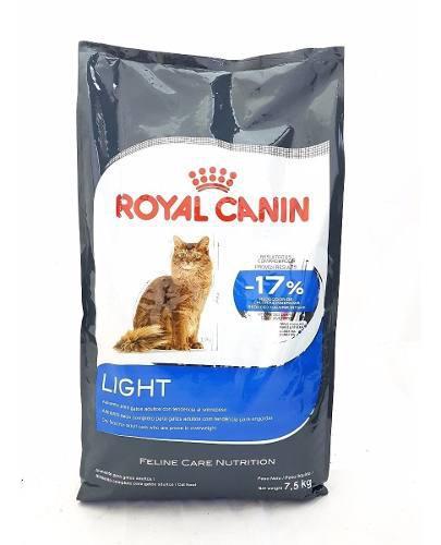 Royal canin cat light 40 x 7.5 kg. sabuesos vet