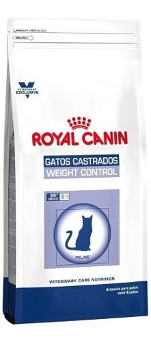 Royal canin gatos castrados weight control 7.5kg env cabas/c