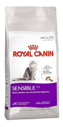 Royal canin sensible 33 7.5 kg gatos adultos el molino