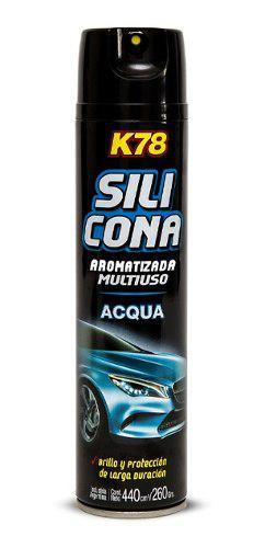 Silicona en aerosol perfumada multiuso k78 cod207 - nolin