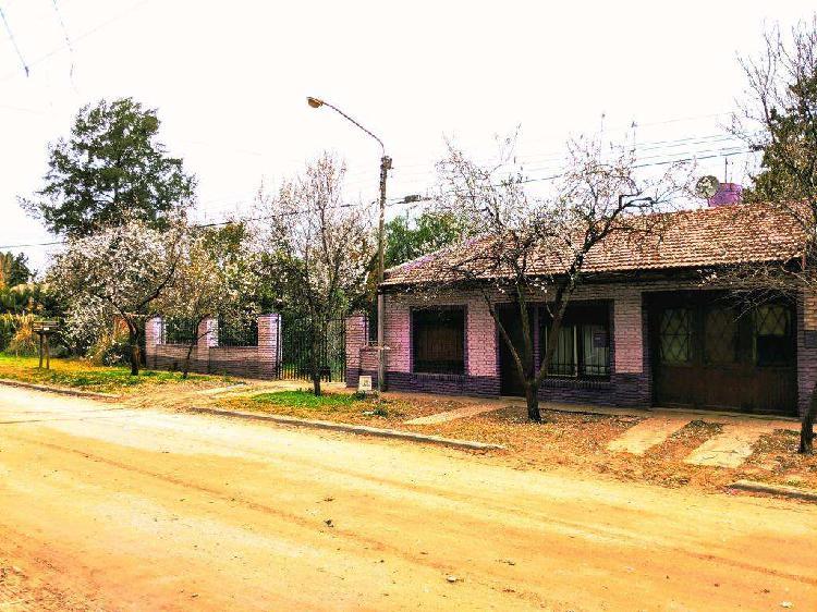 Venta casa quinta 21x65 barrio san miguel