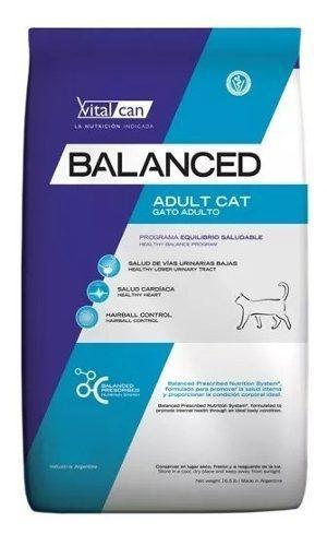 Vital cat balanced gatos adultos 7.5 kg+piedra 2kg!