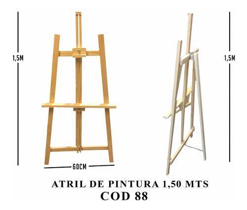 Atril atriles atril atriles de pintor 1,5mts fabrica