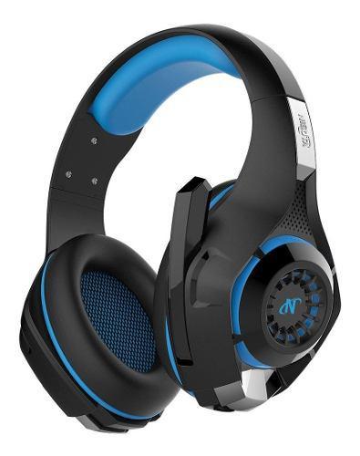 Auricular azul ps4-ps vita gold 7.1 headset azul