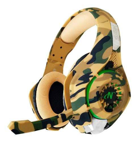 Auricular camuflado ps4-ps vita gold 7.1 headset camuflado