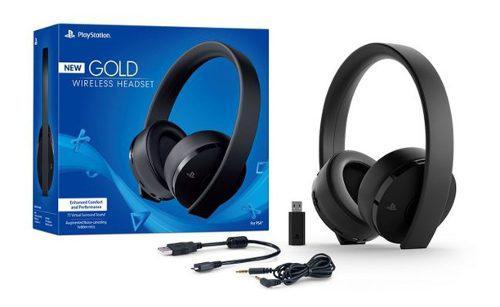 Auriculares headset gold 7.1 sony ps4 original modelo nuevo