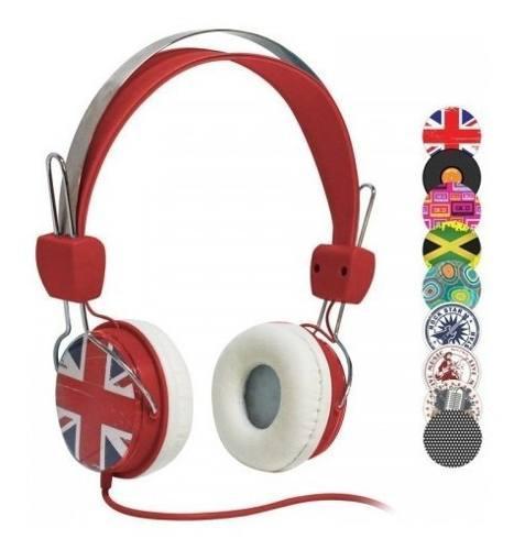 Auriculares headset gold para sony ps4/ vita celular tablet