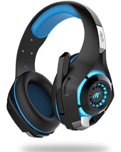 Auriculares headset gold para sony ps4 vita con led envio
