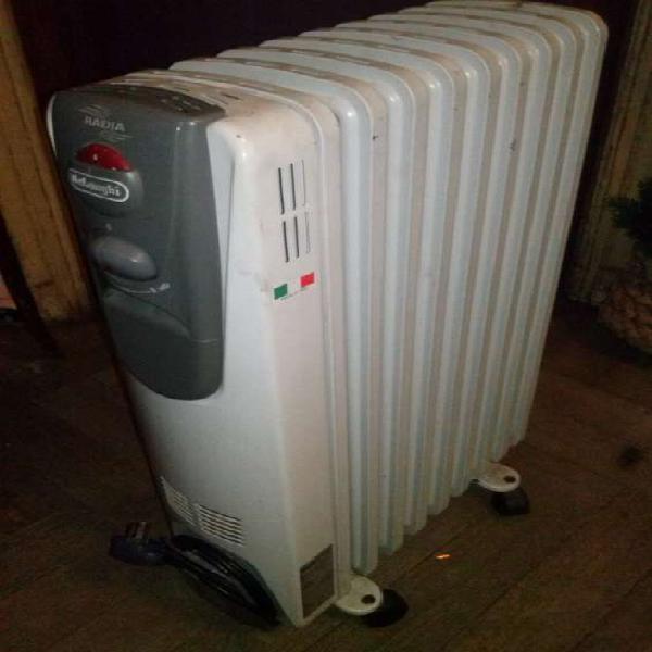 Estufa eléctrica tipo radiador de aceite a la venta en