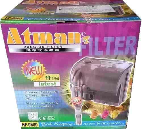 Filtro mochila cascada atman hf-600 de 600 l/h - envios