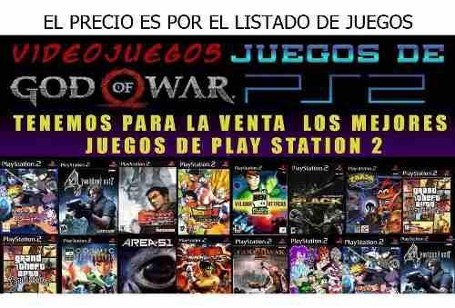 Gran lote juegos ps2 playstation 2 todos los titulos