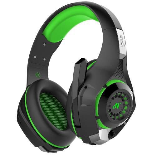 Headset auriculares green nisuta 7.1 ps4 vita celu tablet