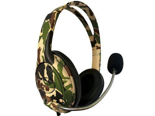Headset auriculares netmak 7.1 ps4 vita celu tablet blattle
