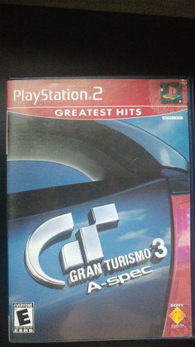 Juego ps2 original gran turismo 3 a-spec con manual