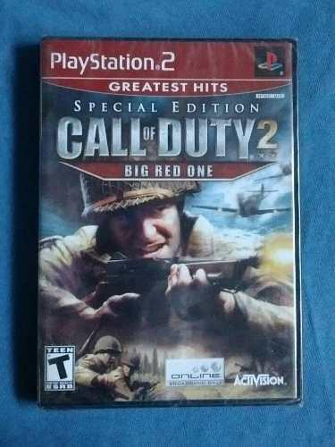 Juegos ps2 call of duty 2 special edition nuevo sellado