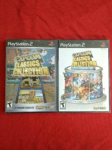 Juegos ps2 capcom classics collection 1 + 2 originales