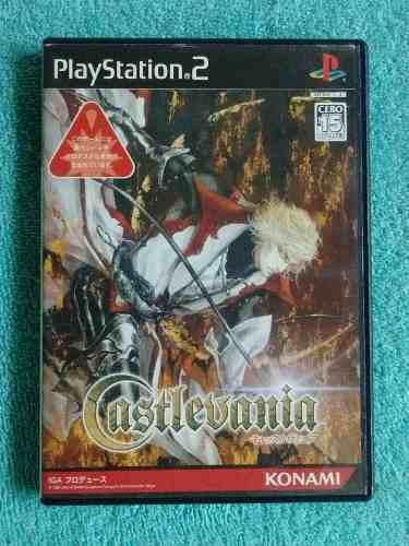 Juegos ps2 castlevania akumajo dracula original [ntsc-j]