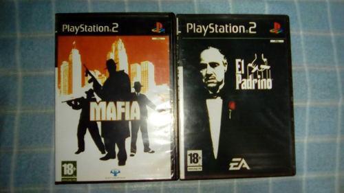 Juegos ps2. combo de 2 juegos.