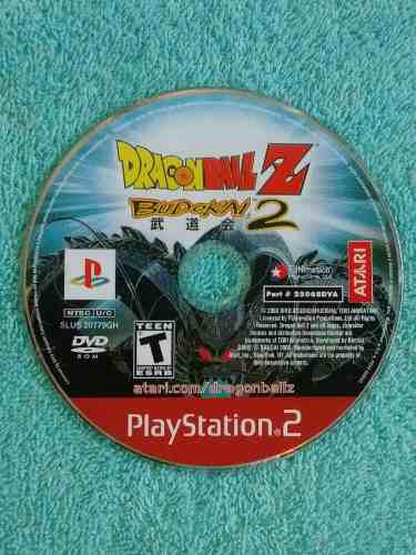 Juegos ps2 dragon ball z budokai 2 original - solo el disco