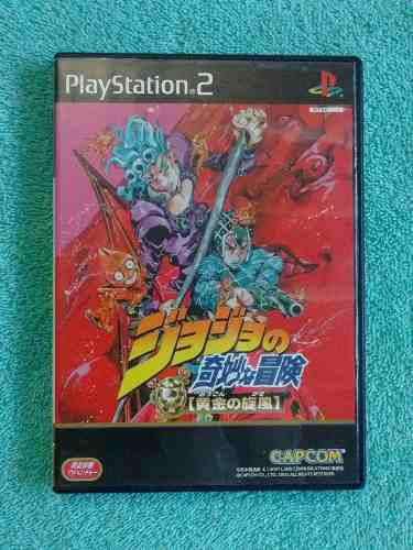 Juegos ps2 jojo bizarre adventure golden wind [ntsc-j]