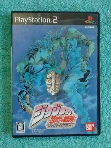 Juegos ps2 jojo bizarre adventure phantom blood original jp