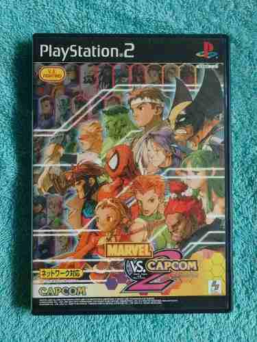 Juegos ps2 marvel vs capcom 2 original japones [ntsc-j]