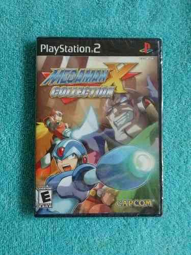 Juegos ps2 megaman x collection [nuevo sellado] 7 en 1