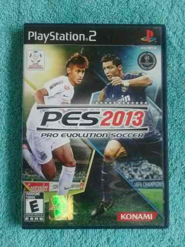 Juegos ps2 pes 2013 original voces castellano [ntsc u/c]