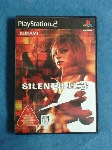 Juegos ps2 silent hill 3 original [ntsc-j] en castellano