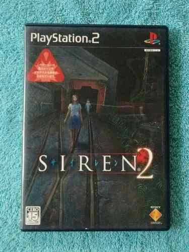 Juegos ps2 siren 2 original japones [ntsc-j] inconseguible