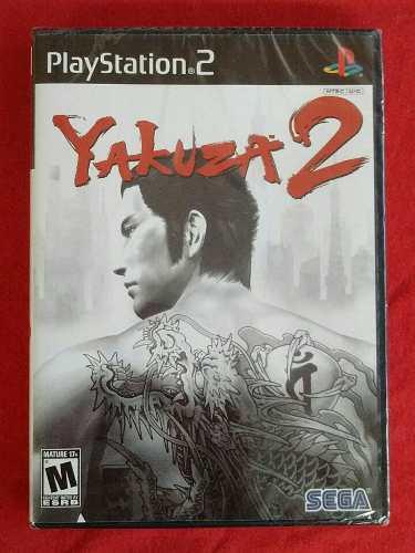 Juegos ps2 yakuza 2 [nuevo sellado inconseguible]