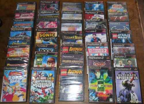 Juegos sony playstation 2 ps2 lote 36 fisicos impresionante!