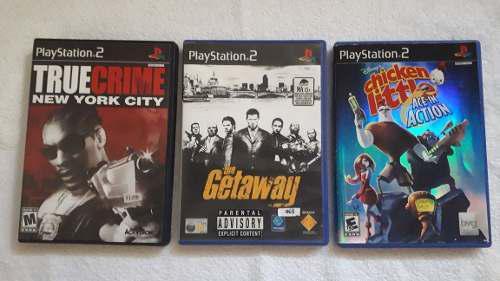 Lote juegos ps2 playstation 2 originales